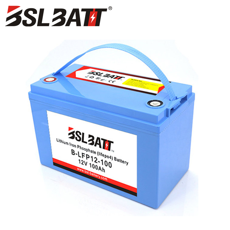 Lithium Ion battery 12V 100Ah LiFePO4 Wisdom Power®