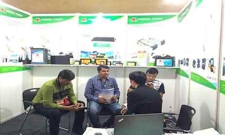 Mumbai India Exhibition 2015-Wsidom Power battery show