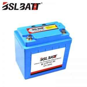 12V 30Ah Lithium-ion Solar Batteries