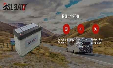 Lithium ion battery for RV motorhome house system