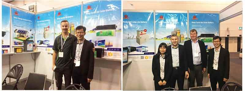 Solar Energy lithium battery Exhibition In Australia