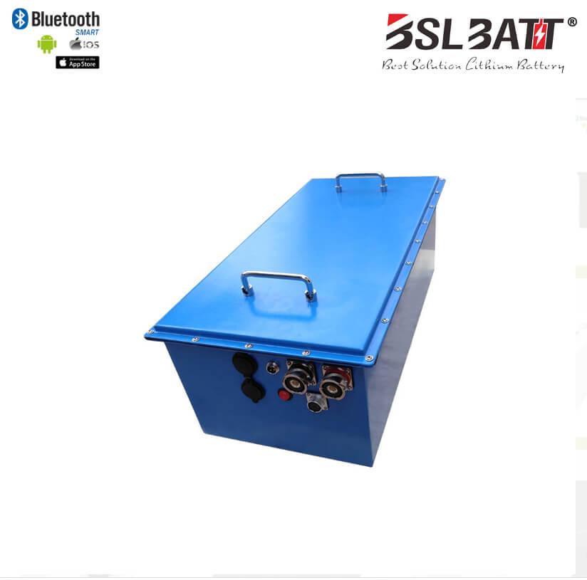 48V-120AH lithium ion golf cart battery pack