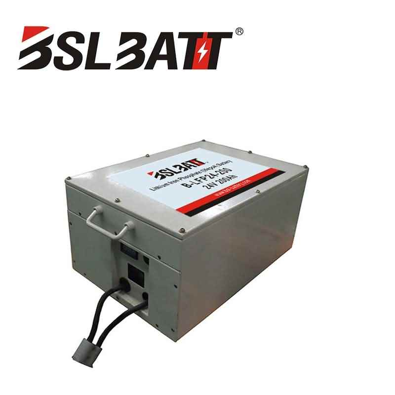 24V-200AH Lithium-Ion Battery Pack(LFP)