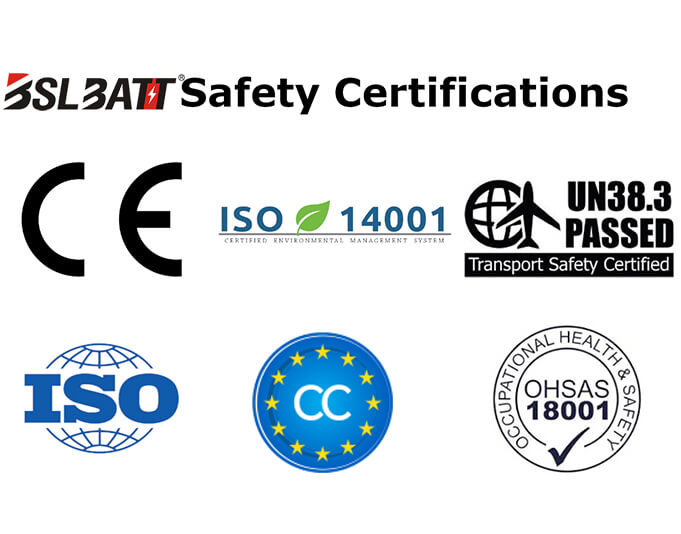 lithium ion forklift battery Certification