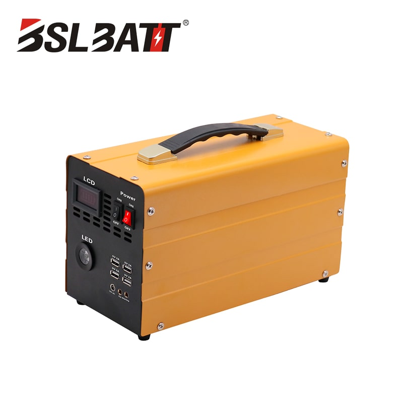Portable Power Supply Batteries LFP 600W