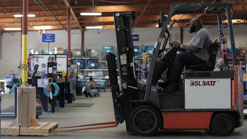 forklift Lithium-ion batteries