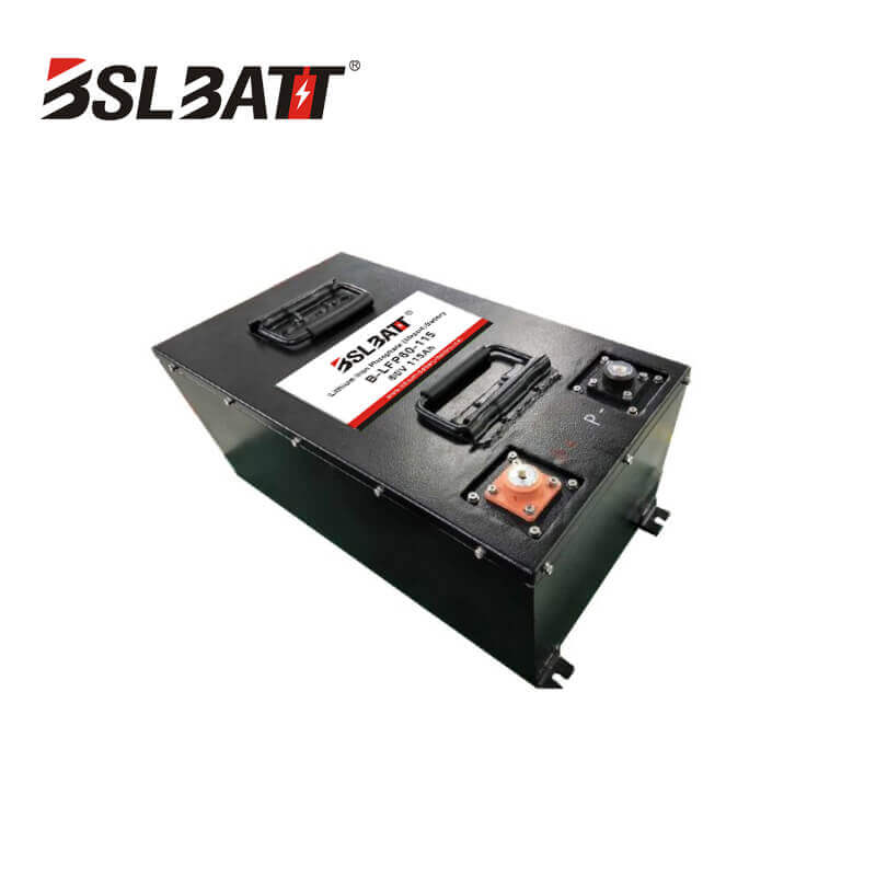 Low Speed Vehicle 60V 115AH LiFePO4 Battery