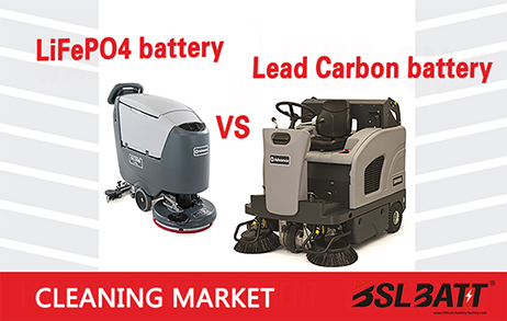 【Verified】Lead carbon and lithium batteries for the cleaning market