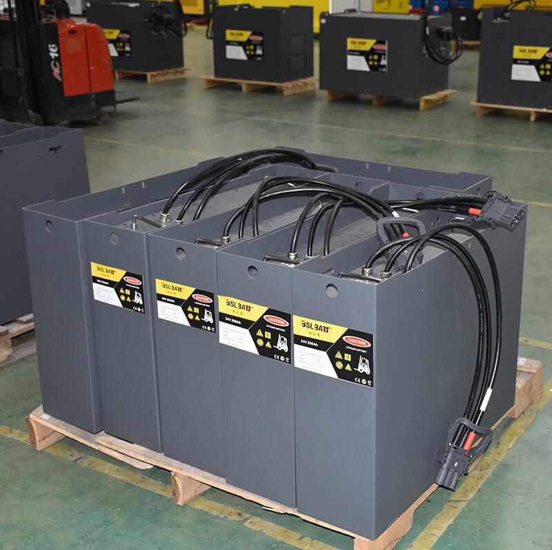 Batería de litio B-LFP24-200 para AGV