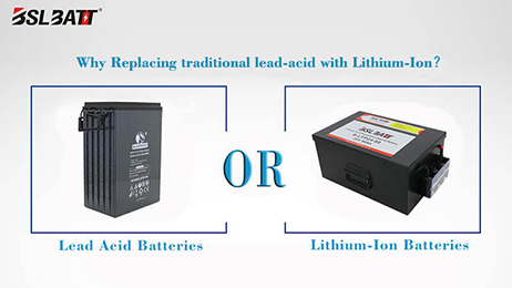 Why Replacing traditional lead-acid with Lithium-Ion?