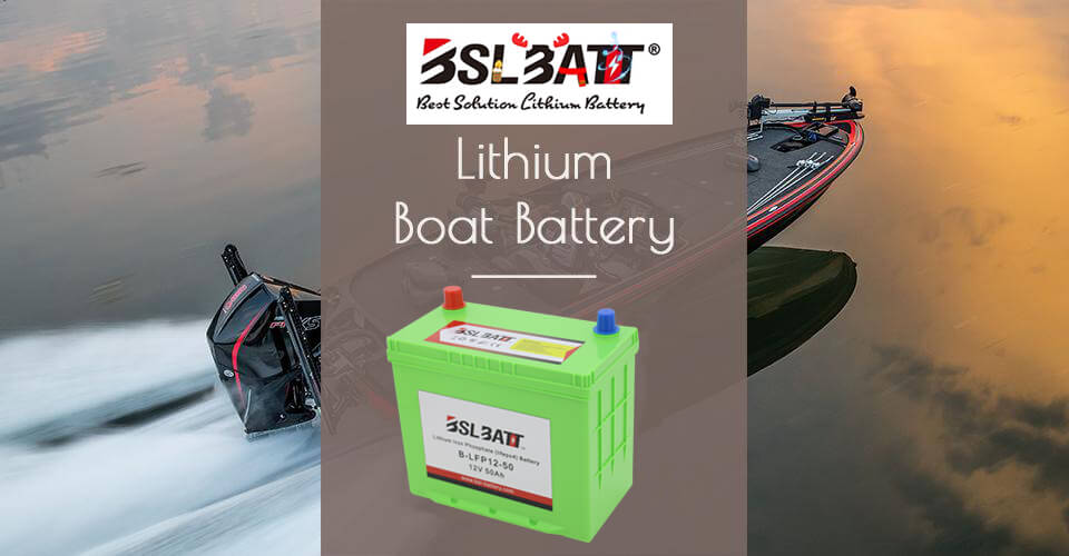 Deep Cycle Lithium Boat battery