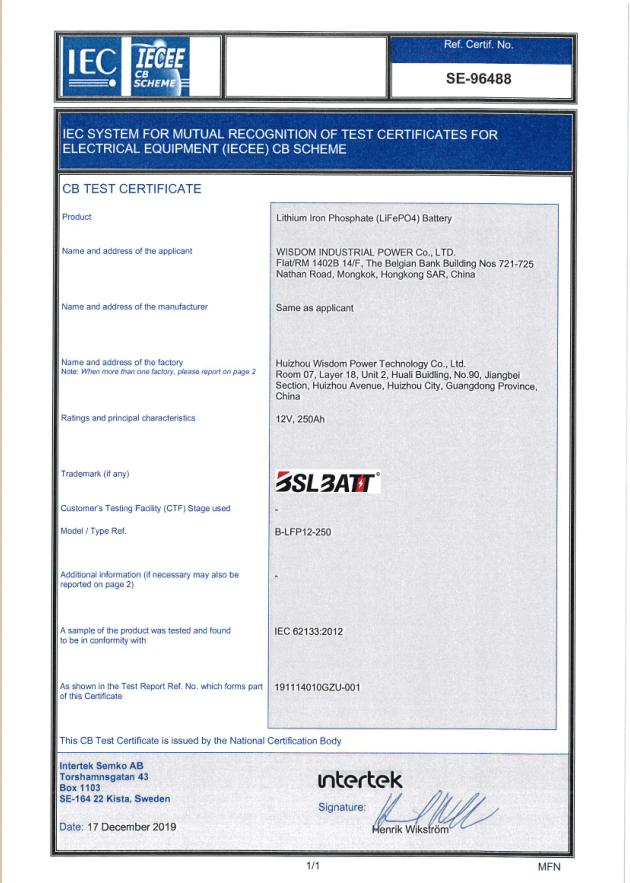 BSLBATT IEC