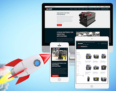 BSLBATT® Lithium forklift battery Announces New Website Launch