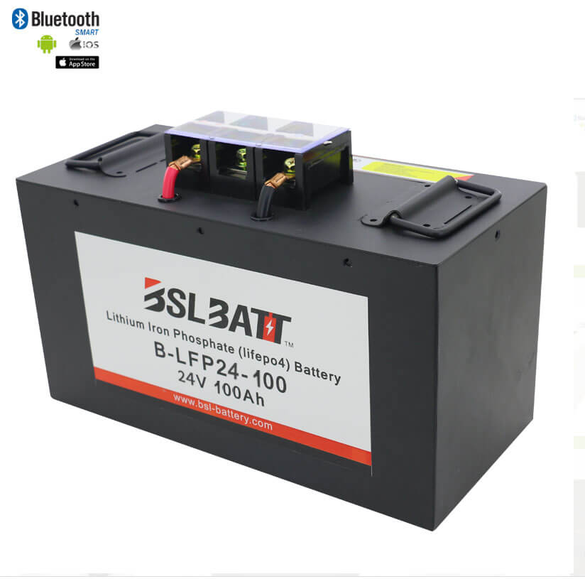 24V 100Ah Lithium Battery Pack (LFP)