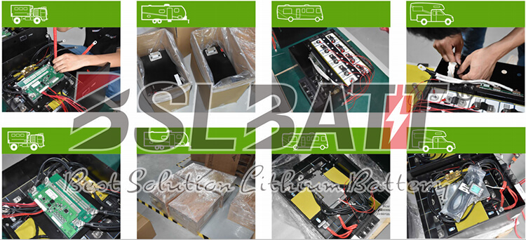 Lithium RV battery factory