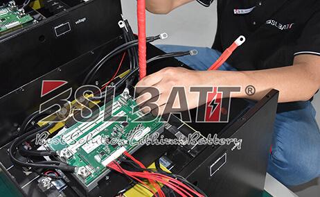 système de batterie au lithium rv
