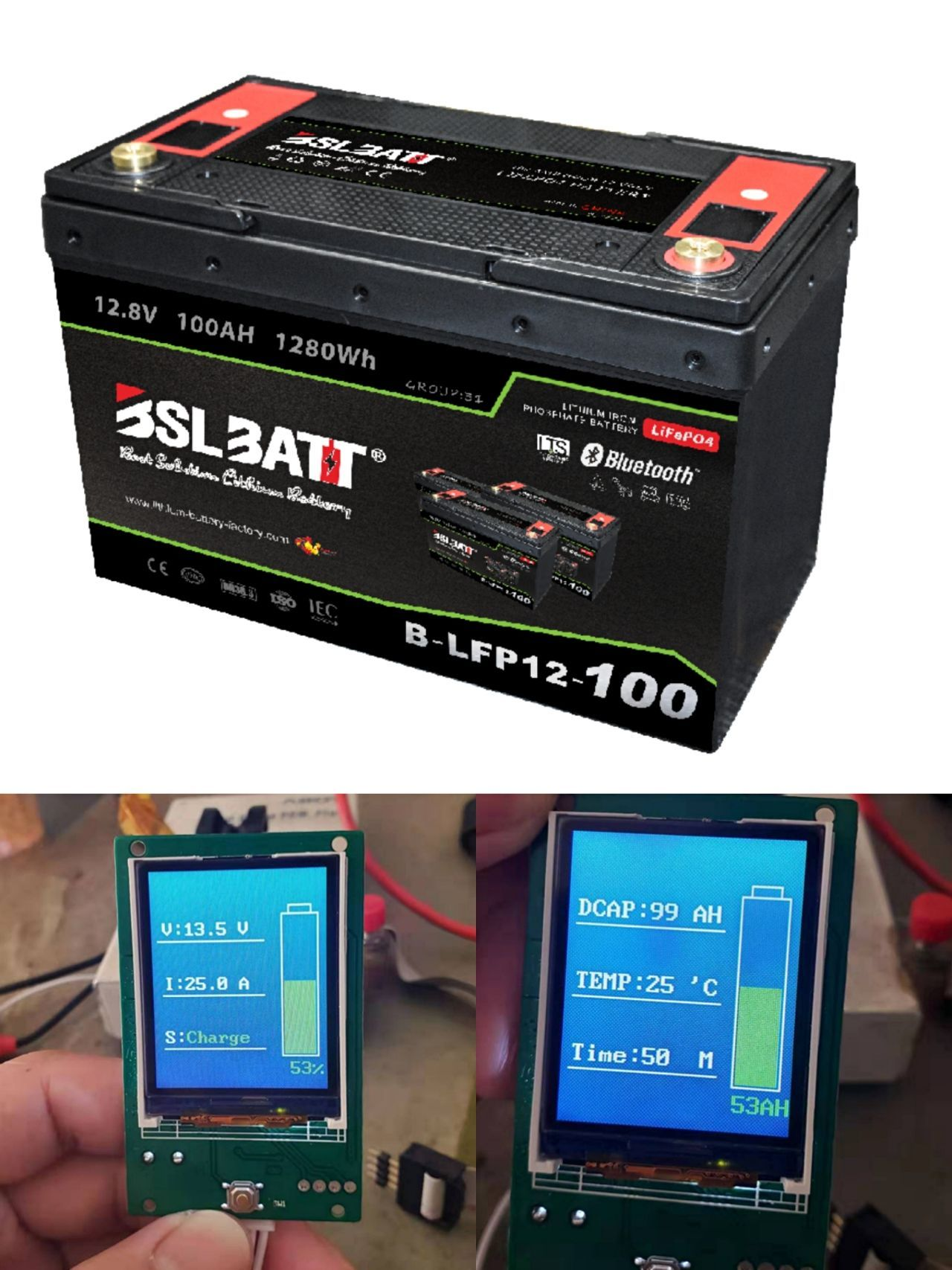 Batterie au lithium 12V