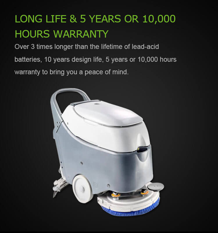 battery powered floor scrubber for sale