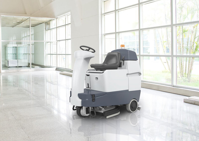 commercial floor scrubber machine