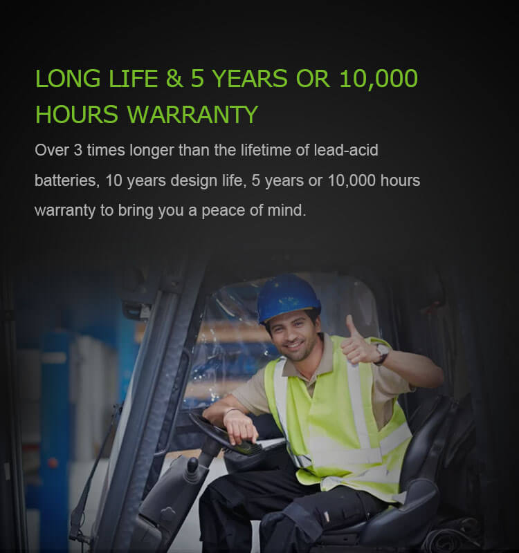 lithium ion battery for forklift