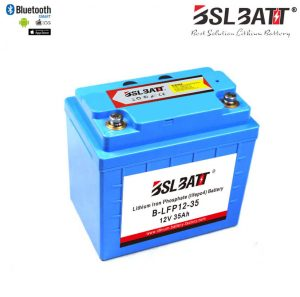 U1 Lithium Iron Phosphate 12V 35AH 480CCA Starting Battery for Lawn Mower