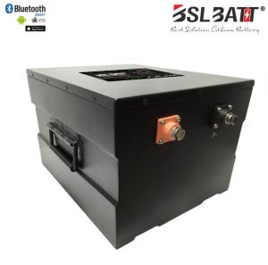24 Volt 300 AMP lithium iron phosphate (LiFePO4) industrial deep cycle battery