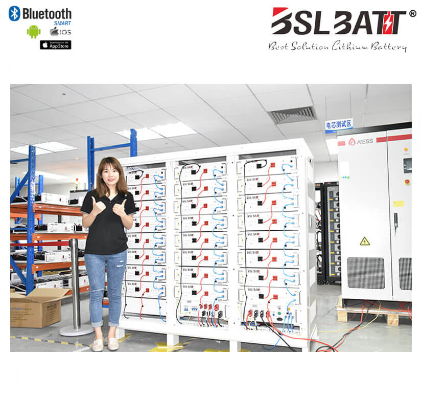 BSLBATT® Megawatt Energy Storage Solution for Renewables