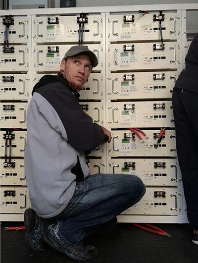 lithium solar power batteries