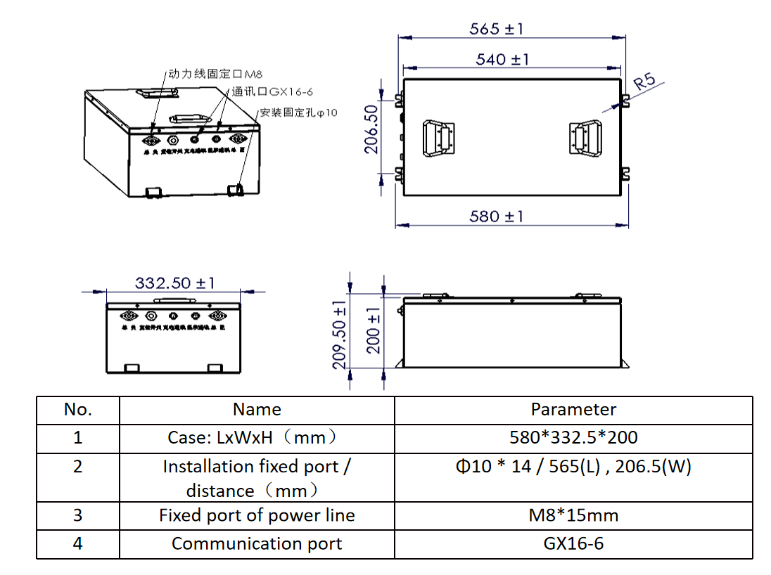 Lithium Ion Golf Cart battery