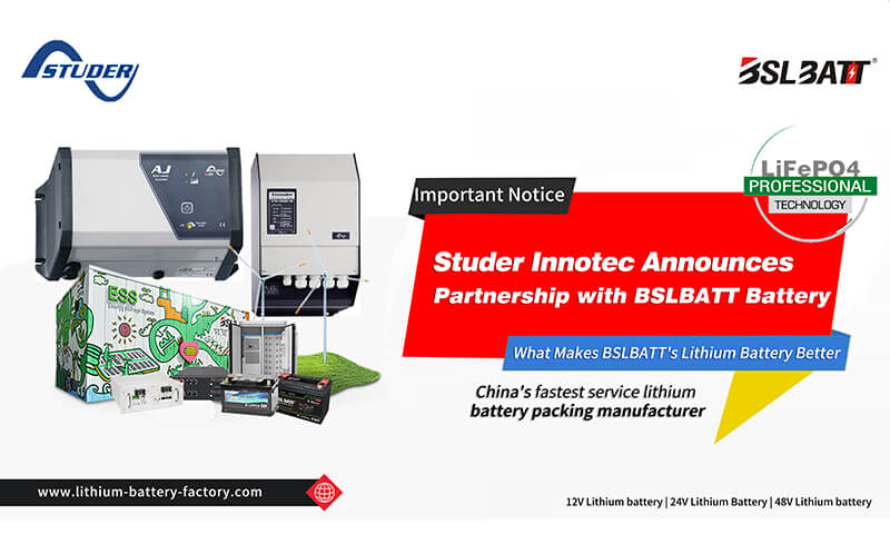 Studer inverters and BSLBATT Lithium