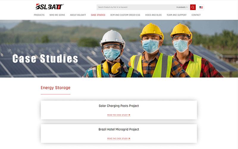 BSLBATT ESS project series