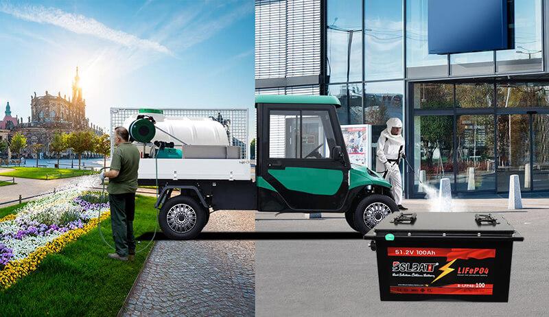BSLBATT Lithium GPK Utility vehicles.
