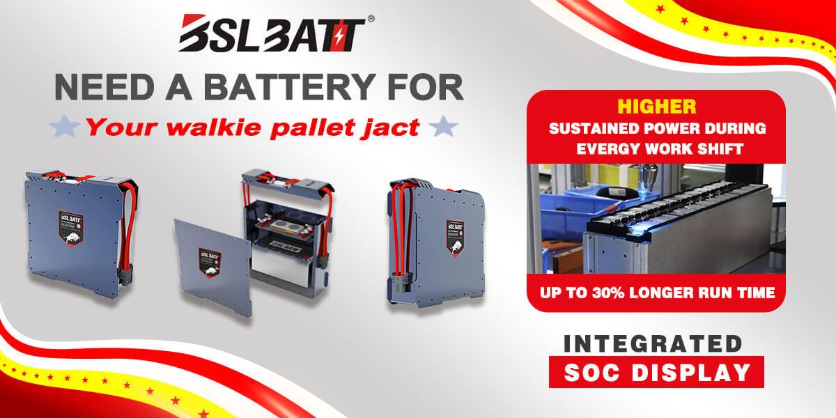 PALLET JACK Series Lithium iron Phosphate Batteries