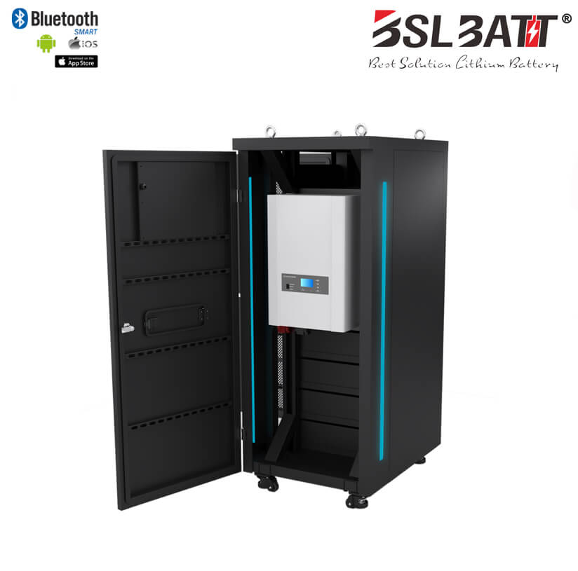 "Energy Storage System 19"" Rack-Mount Li-Ion Battery"