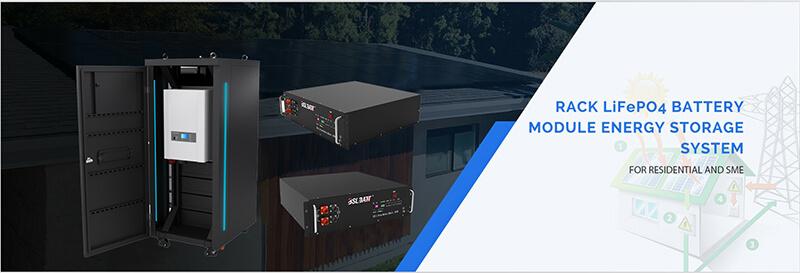 Rack-Mount Li-Ion Batteries