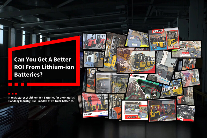 Lithium-ion Batteries for Forklifts and Warehouse Applications