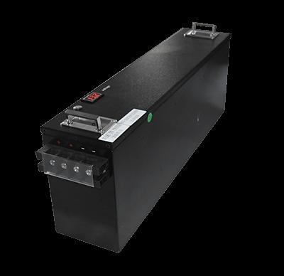 RV lithium battery conversion