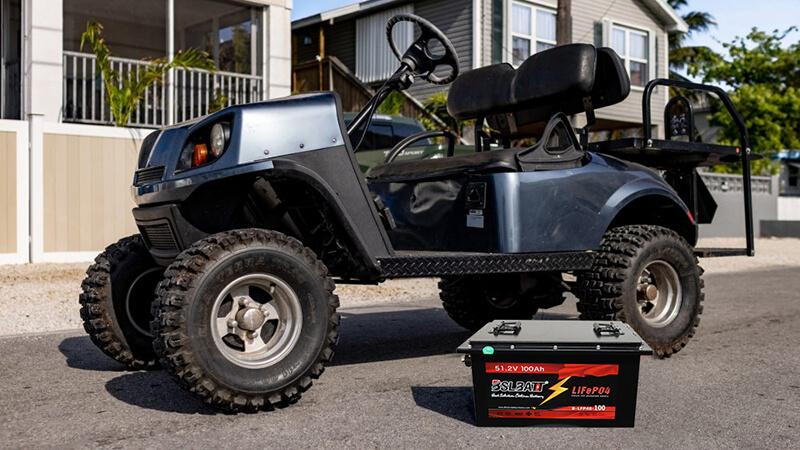 Ce dont vous avez besoin pour mettre à niveau votre voiturette de golf vers des batteries au lithium