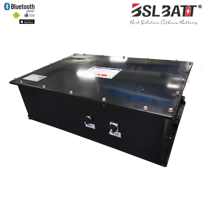 Batterie au lithium AGV haute tension personnalisée